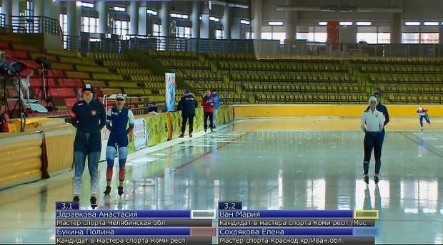 Конькобежки Коми попали в финал Кубка России