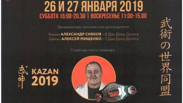 В Казани пройдет учебно-тренировочный семинар по джиу-джитсу