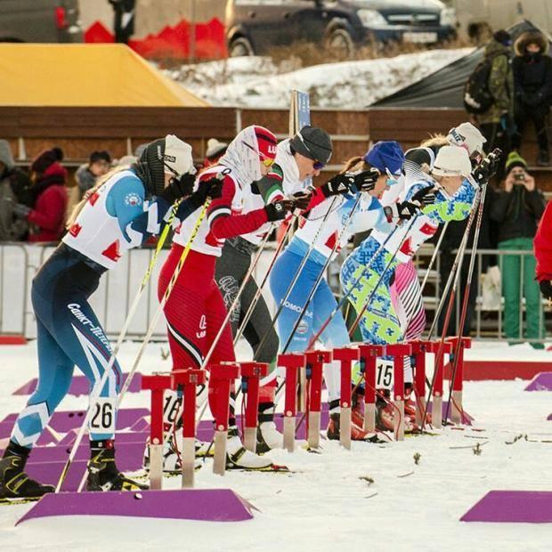 Лыжники из Республики Коми участвуют в чемпионате СЗФО в «Малиновке»