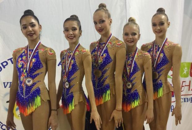 Загоскина стала бронзовым призером в соревнованиях по художественной гимнастике на Спартакиаде