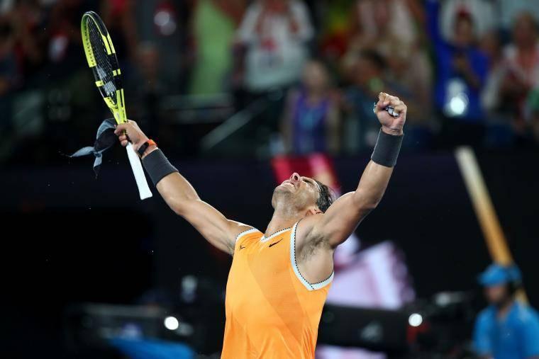 Рафа, это – пять! Надаль пятый раз в карьере вышел в финал Australian Open