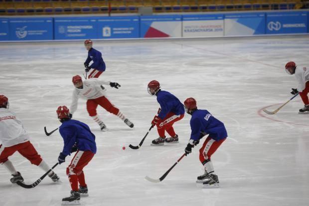 В Красноярске состоялась пресс-конференция, посвященная старту Первенства мира по хоккею с мячом среди юниоров