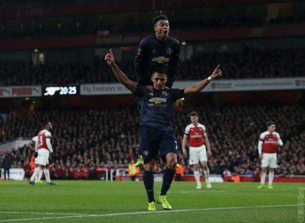 «МЮ» одержал 8-ю победу под руководством Сульшера, обыграв «Арсенал» в Кубке Англии