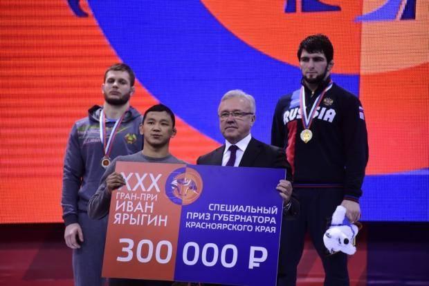 В Красноярске завершился XXX юбилейный турнир «Иван Ярыгин»