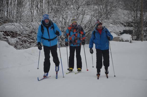 Лыжный переход от Визябожа до Корткероса