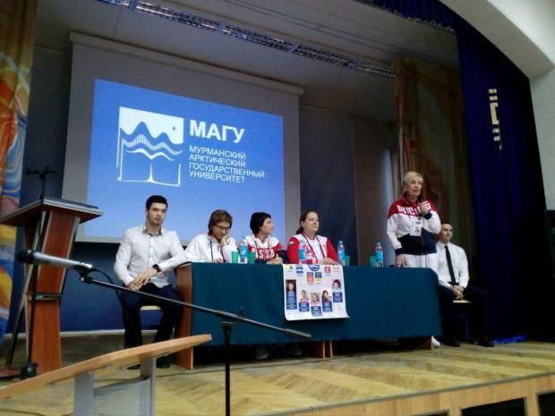 В Мурманскую область прибыла делегация Российского союза спортсменов