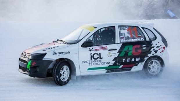 Татарстанский пилот выиграл I этап чемпионата России по зимним трековым автомобильным гонкам