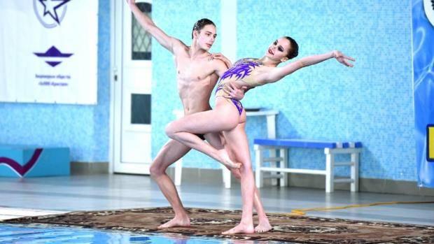 Сборная Татарстана вошла в число сильнейших на первенстве России по синхронному плаванию