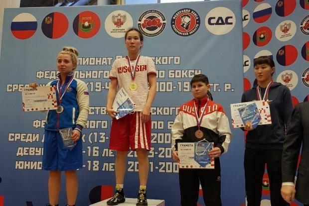 Омские спортсменки стали чемпионками Сибири по боксу