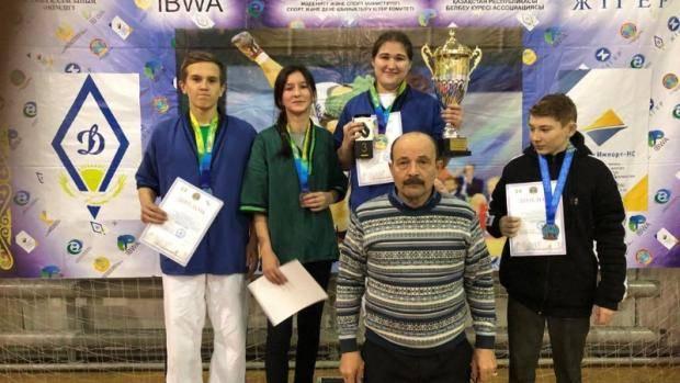 Челнинские спортсмены заняли призовые места в турнире по борьбе на поясах