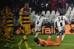 «Ювентус» в концовке упустил победу над «Пармой», у Роналду дубль
