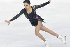 Женя Медведева – великая! Она бьется за ЧМ до конца и едет на финал Кубка России