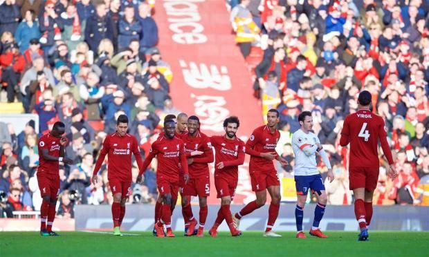 Футболисты «Ливерпуля» забили три безответных мяча в ворота «Борнмута»