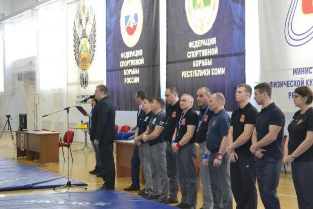 Сильнейшие борцы-вольники Коми съехались в Сыктывкар