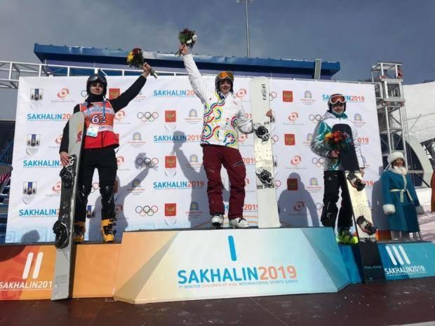 «Дети Азии»: Владимир Пнев – призер в параллельном слаломе-гиганте