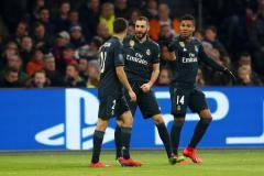«Реал» обыграл «Аякс» в первом матче 1/8 финала Лиги чемпионов