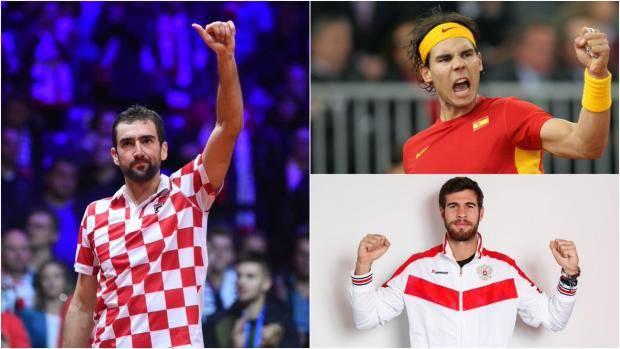 Опять Испания, опять Хорватия! Россия узнала соперников в Кубке Дэвиса