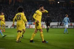 «Челси» в гостях одержал победу над шведским «Мальме» в Лиге Европы