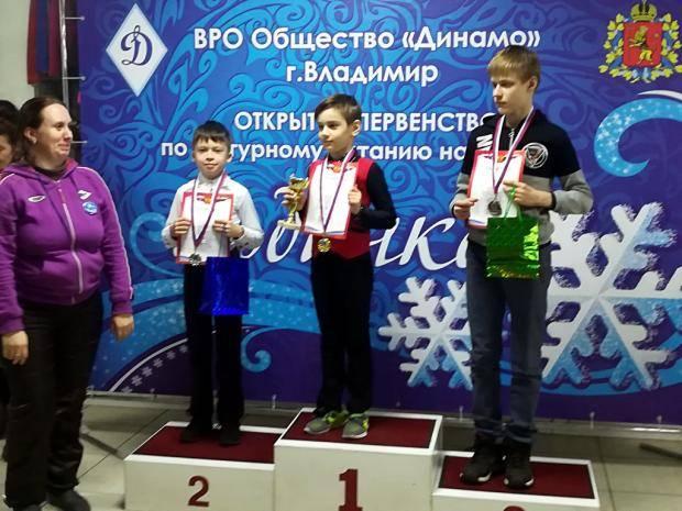 Юные фигуристы Сыктывкара завоевали награды открытого первенства во Владимире