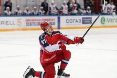 Нападающий ЦСКА Капризов стал лучшим снайпером чемпионата КХЛ