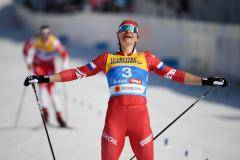 Две медали, но без золота. Россияне взяли серебро и бронзу в скиатлоне