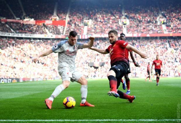 Манчестер юнайтед против ливерпуь