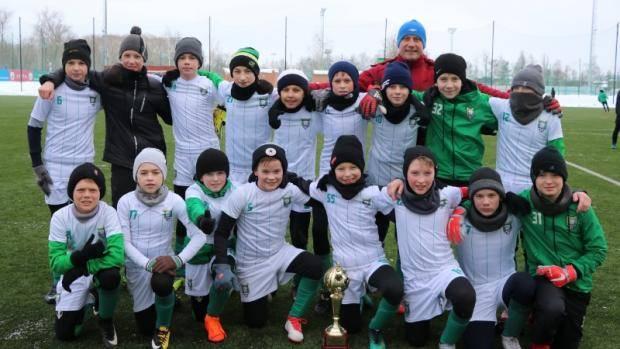 «ДЮСШ №3» из Зеленодольска - обладатель зимнего Кубка Федерации футболу 2019 года среди юношеских команд 2006 г.р.