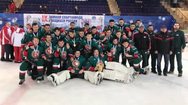 Татарстанские хоккеисты стали победителями Спартакиады учащихся России