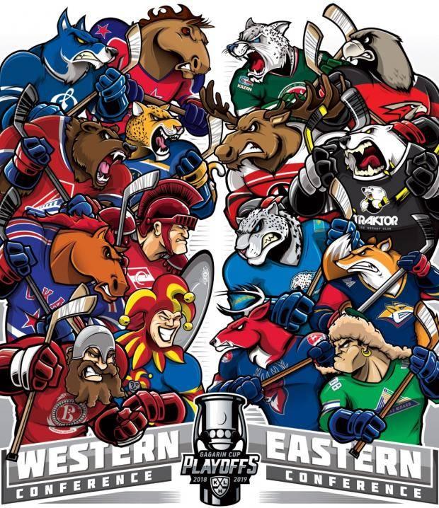КХЛ представила свою Вселенную супергероев (фото)