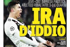 «Гнев божий». Обзор итальянских газет после победы «Ювентуса» и хет-трика Роналду