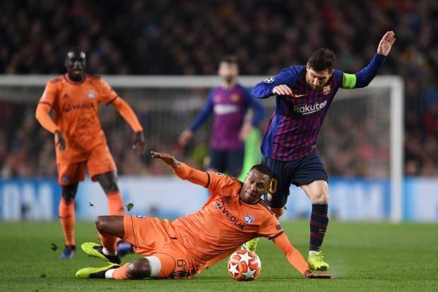 Месси за 8 минут размазал «Лион» по газону. «Барселона» в четвертьфинале (видео)
