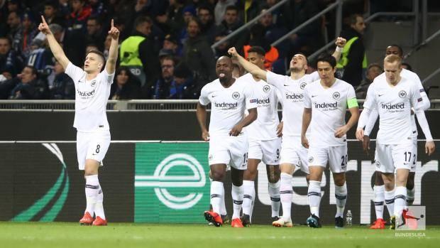 «Айнтрахт» выбил «Интер» из Лиги Европы, одержав победу в Милане