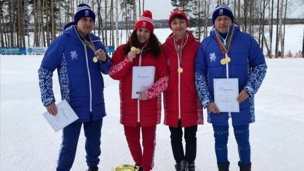 В Заинске прошли соревнования Спартакиады муниципальных служащих Республики Татарстан по лыжным гонкам