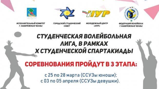 В Челнах продолжаются соревнования в рамках городской «Студенческой Спартакиады»