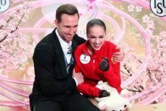 Загитова стала чемпионкой мира, Медведева – третья