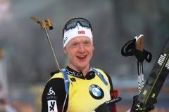 Йоханнес Бе выиграл спринт на этапе Кубка мира в Холменколлене, Логинов – девятый