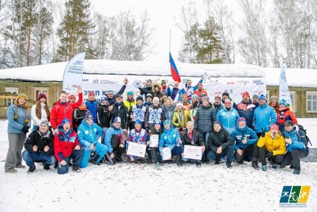 «Железные люди» на зимнем этапе Кубка России в Новосибирске