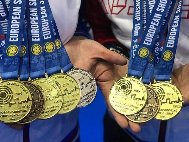 Омские стрелки продолжают «штамповать» медали в Хорватии