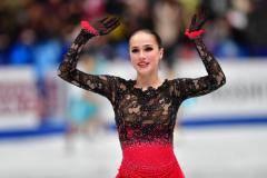 Алина Загитова: Спасибо тренерам и всем, кто мне помогал в трудные моменты