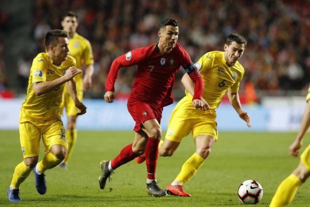 Португалия не смогла дома переиграть Украину в матче квалификации Евро-2020