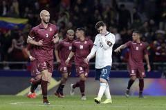 Сборная Аргентины уступила Венесуэле в товарищеском матче