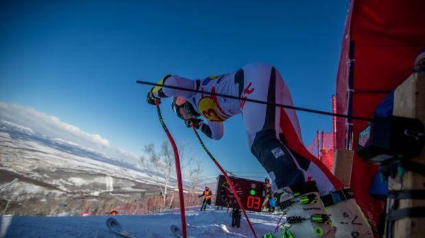 Россия и Словения взяло золото в гигантском слаломе Far East Cup