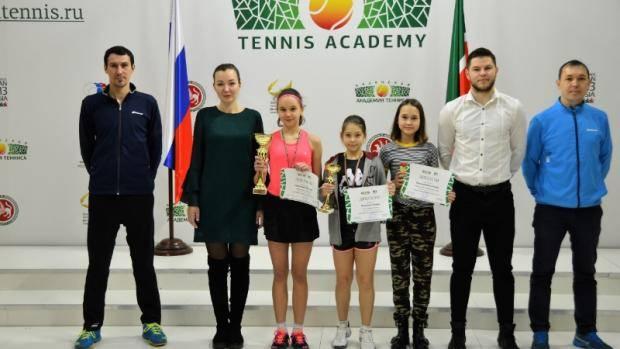 В Казани подвели итоги Первенства Татарстана по теннису