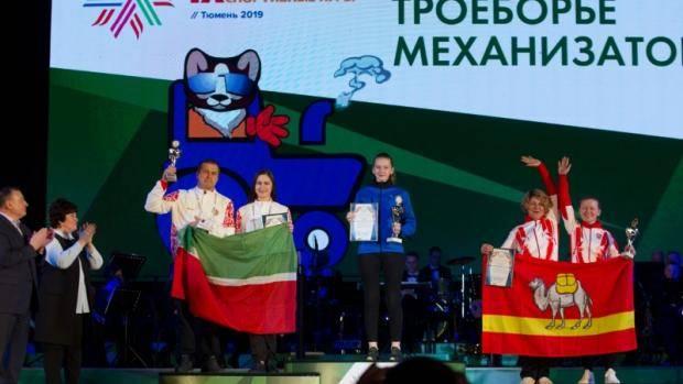 Татарстанская делегация приняла участие в IХ Всероссийских зимних сельских спортивных играх