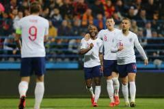 Дубль Баркли помог Англии разгромить Черногорию в матче квалификации Евро-2020