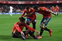 Дубль Мораты принес победу Испании над Мальтой в квалификации Евро-2020