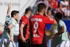 Гол Левандовски спас «Баварию» от поражения в матче с «Фрайбургом»