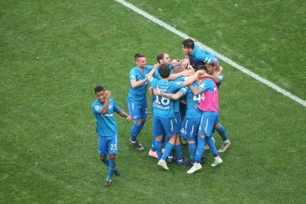 Дубль Азмуна помог «Зениту» одержать волевую победу над «Оренбургом»