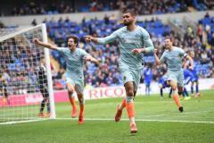 «Челси» в компенсированное время вырвал победу у «Кардифф Сити»