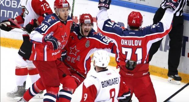 ЦСКА выиграл у омского Авангарда и второй матч финальной серии Кубка Гагарина